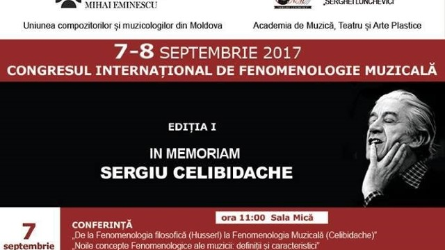 Congresul International de Fenomenologie Muzicală, In memorian Sergiu Celibidache
