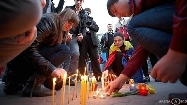 Autoritățile centrale nu au participat la manifestaţiile dedicate protestelor din 7 aprilie 2009