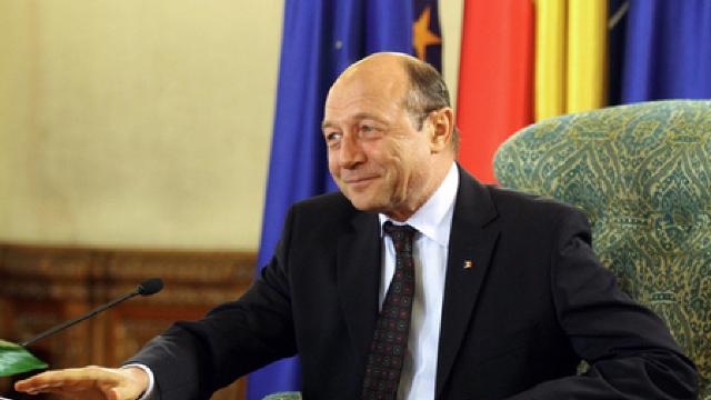 Traian Băsescu s-a întâlnit cu jurnaliștii de la Chișinău
