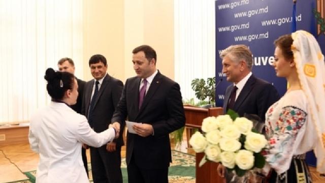 Olimpicii moldoveni și-au primit premiile