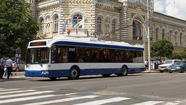 Pe strada Albișoara din Chișinău va circula o nouă linie de troleibuz