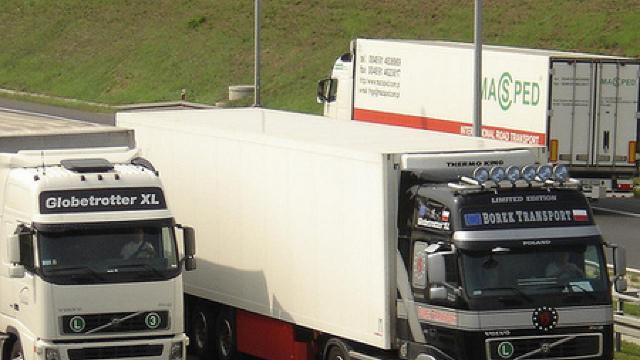 Zeci de camioane, blocate în vama Leușeni-Albiţa
