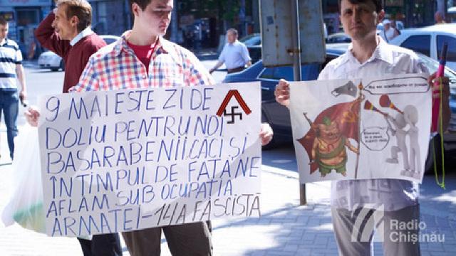 Protest față de concertul din 9 mai