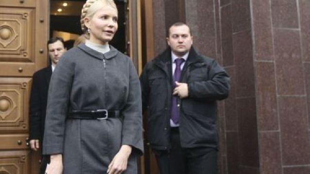 Statele Unite și UE fac presiuni pentru eliberarea luliei Timoșenko