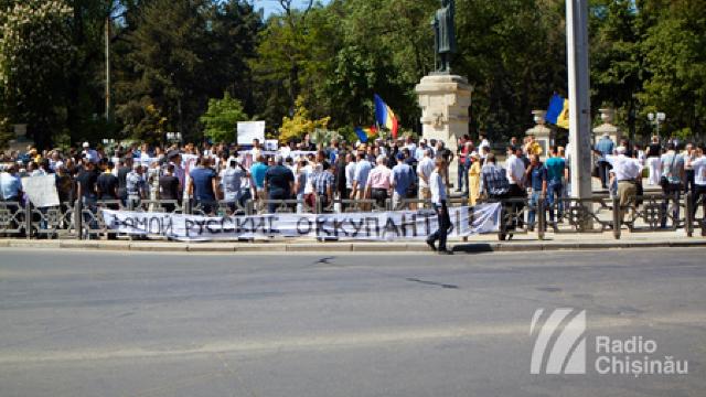 Protest față de organizarea concertului consacrat zilei de 9 mai