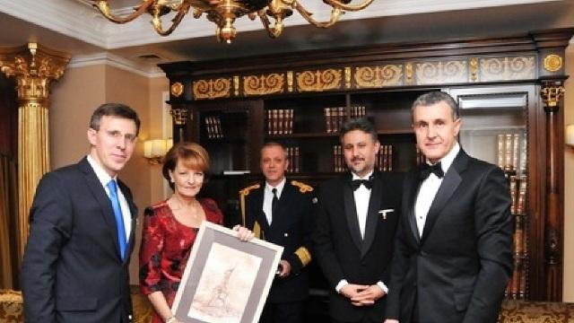 Principesa Margareta și principele Radu au avut o întrevedere cu Dorin Chirtoacă