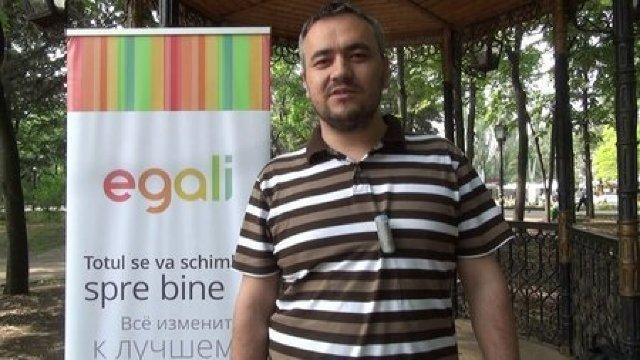 Vitalie Sprânceană: Oraşul aparţine tuturor, dar într-o măsură inegală