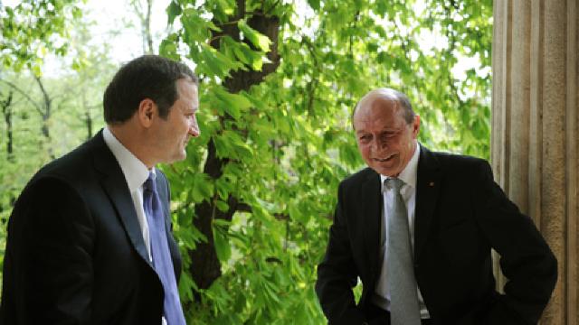 Liderul PLDM Vlad Filat s-a întâlnit cu Traian Băsescu