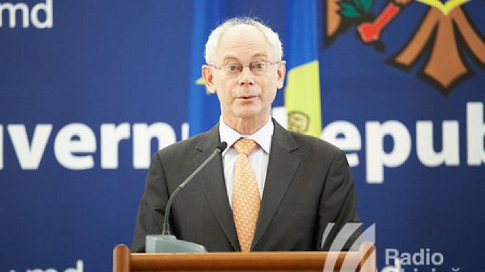 Herman Van Rompuy: UE este de partea voastră astăzi