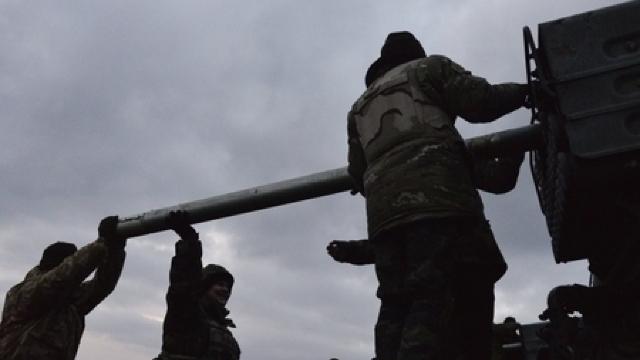Ucraina așteaptă confirmarea OSCE, pentru a retrage armamentul greu