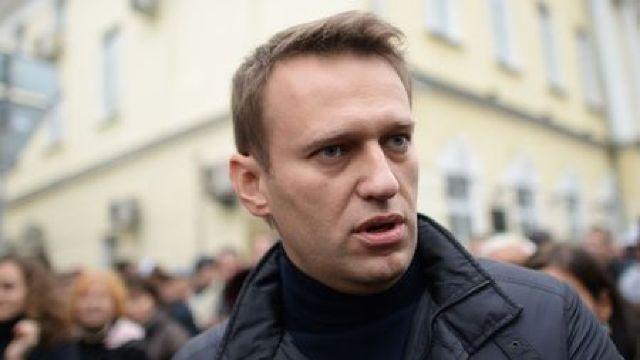 Opozantul rus, Aleksei Navalnîi, arestat din nou, chiar la ieșirea din închisoare