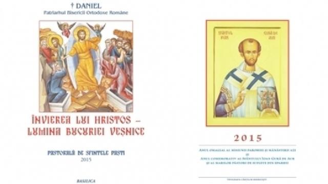 Pastorală de Sfintele Paşti 2015 a Patriarhului României