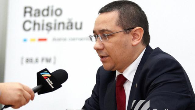 Interviu cu Victor Ponta, pentru Radio Chișinău