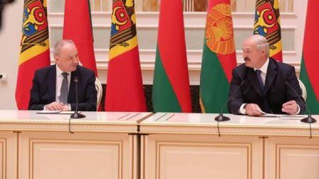 Ce a discutat Nicolae Timofti cu Alexandr Lukașenko la Minsk