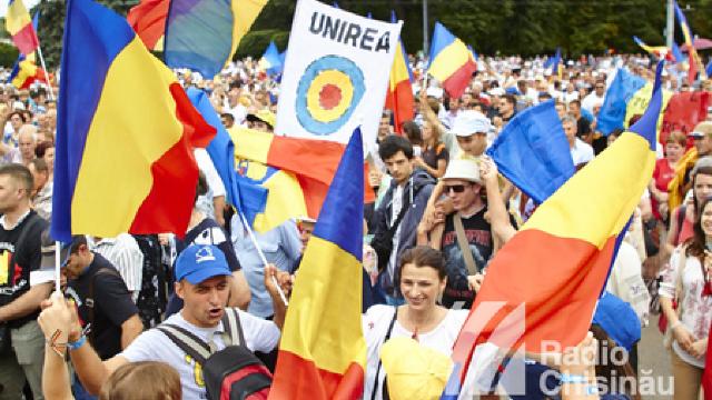 Câteva mii de persoane au participat la Marea Adunare Națională