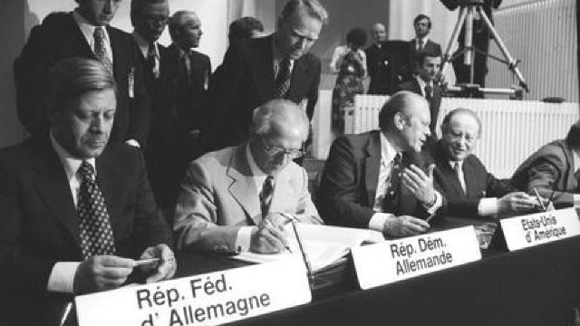 40 de ani de la semnarea acordurilor de la Helsinki