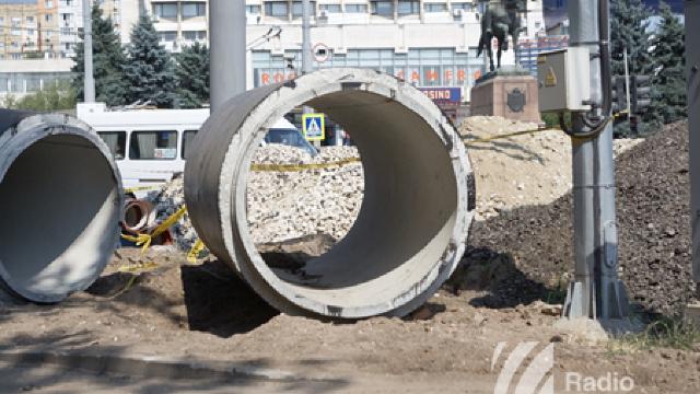 Chișinău | Trafic rutier suspendat pe bulevardul Negruzzi