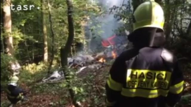 ACCIDENT AVIATIC în Slovacia. Două avioane s-au ciocnit în aer