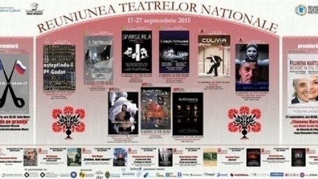 """Astăzi începe """"Reuniunea Teatrelor Naționale"""" la Chișinău (PROGRAM)"""