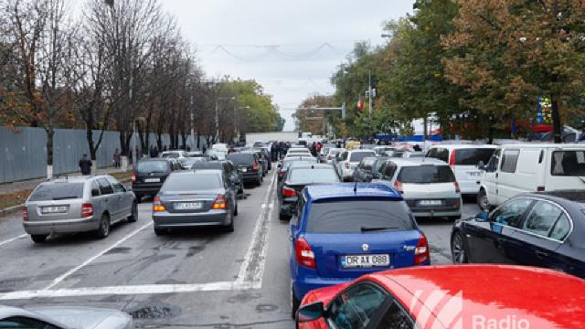 Suspendări de trafic rutier în Chișinău