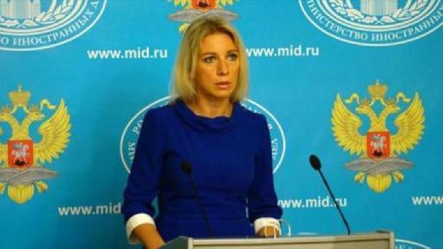 MAE rus îl acuză pe Klaus Iohannis