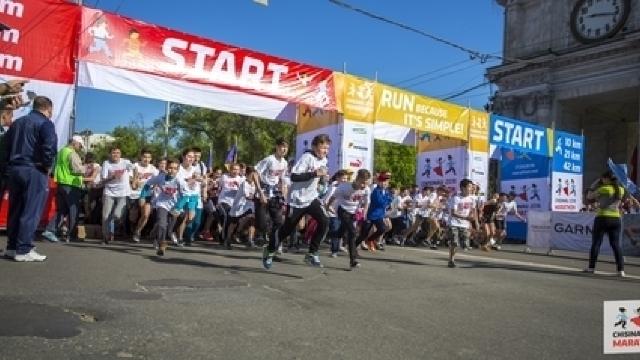 Peste 15 mii de persoane au participat la Maratonul Internațional Chișinău