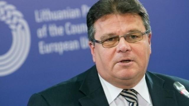 Linas Linkevicius: Guvernările declarate pro-europene ale R.Moldova au umbrit procesul de integrare europeană