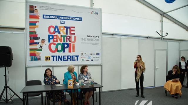 A XX-a ediție a Salonului Internațional de Carte pentru Copii și Tineret