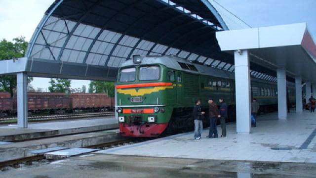Patru locomotive de la CFM au fost renovate