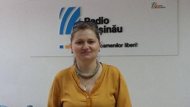 Violeta Gorgos, la Radio Chișinău