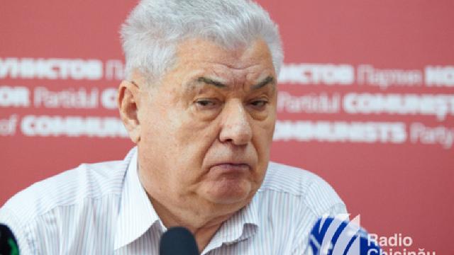 Comuniștii nu au un candidat pentru Primăria Chișinăului. Voronin: Oricine vine în locul lui Chirtoacă e mai bun