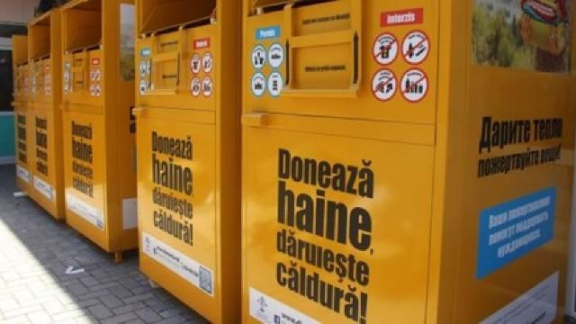 Prima bancă de haine în R. Moldova: Donează haine, dăruiește căldură!