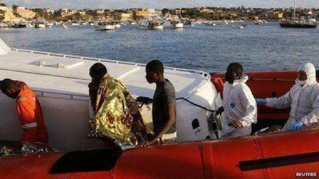 Peste 1.000 de migranți au fost salvați în Marea Mediterană