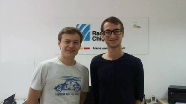 Marcel Lazăr și Vadim Grumeza, la Familia Diminescu