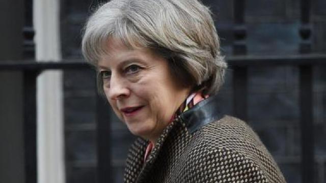 Theresa May, primul lider străin care se va întâlni cu Donald Trump