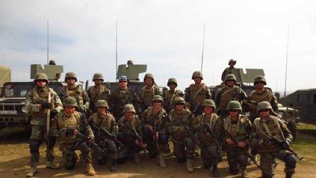 "FOTO // Batalionul de Menţinere a Păcii, la ""Platinum Lynx 6.5"""