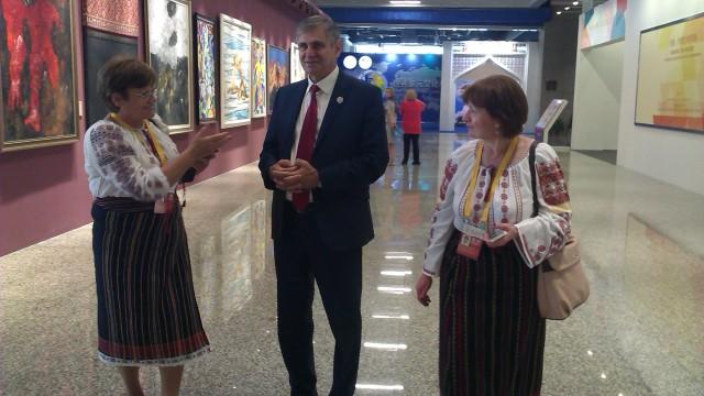 """R. Moldova participă la Expoziția Internațională Culturală """"Drumul Mătăsii"""""""