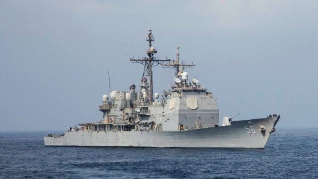 Distrugătorul american USS Mason a respins un nou atac cu rachete, în Marea Roșie