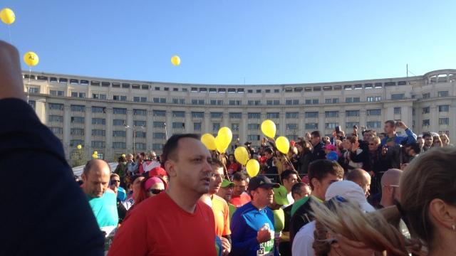 FOTO | Alergători din întreaga lume au participat la Maratonul de la București