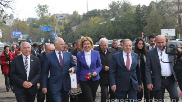 """FOTO   Ambasadorul rus, Farit Muhametșin, """"prezent la datorie"""" în Găgăuzia, de hramul orașului Vulcănești"""