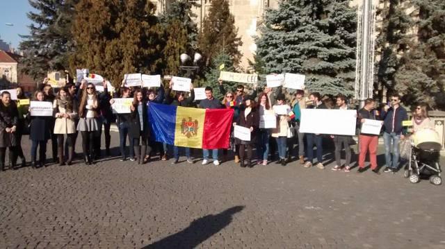 FOTO | Protestul de la Chișinău s-a încheiat. Se anunță noi proteste