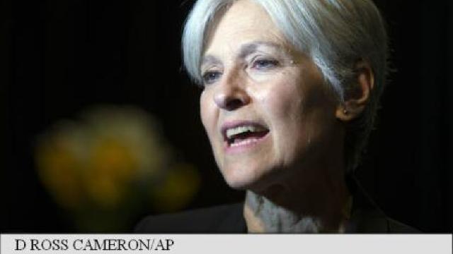 Statele Unite   O fostă candidată la Casa Albă, Jill Stein, solicită renumărarea voturilor în Wisconsin