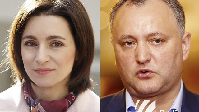 Maia Sandu a declarat că Igor Dodon nu reprezintă un simbol al familiei