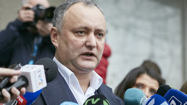 Igor Dodon insistă să transforme R.Moldova în țară prezidențială