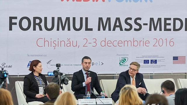 FORUM 2016 | Mass-media din Republica Moldova (FOTO)