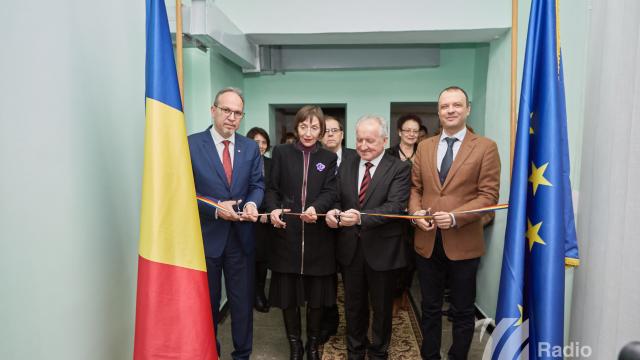 FOTO | A fost inaugurat un centru de informare al României, la Bălți