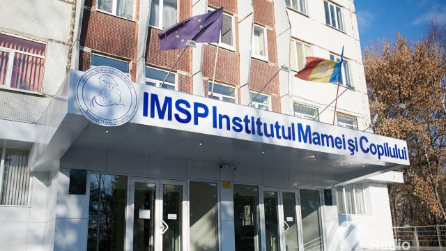 FOTO | O secție de la Institutul Mamei și Copilului din Chișinău a fost renovată din banii oferiți de Guvernul României
