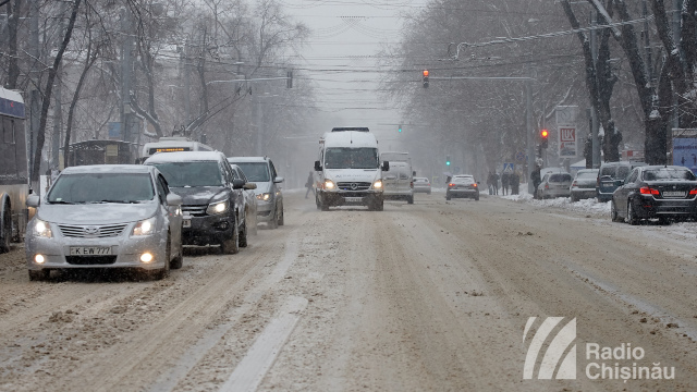 Chișinău | Arterele de circulaţie din sectoarele Râşcani şi Ciocana au fost deblocate