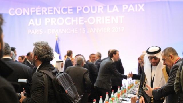 Summit mondial privind conflictul dintre Israel și Autoritatea Palestiniană, în Paris