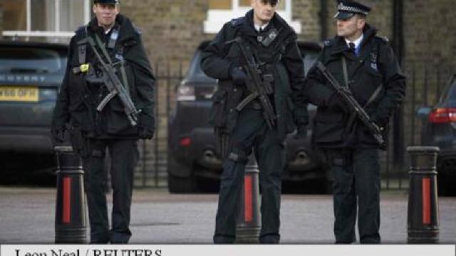 Un bărbat bănuit că plănuia atentate teroriste a fost arestat la Londra